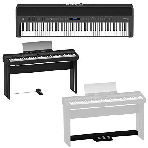 Great Features Of Roland FP-90 88 Key Digital Piano - Bundle with Roland KSC-90 Stand Black, Roland ...