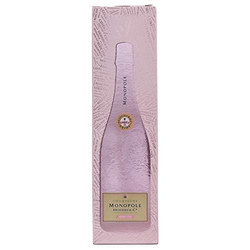 Heidsieck & Co. Monopole Rosé Top Brut Champagner mit Geschenkverpackung (1 x 0.75 l) - 4