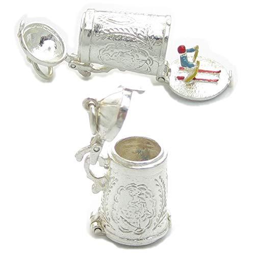 Abertura grande jarra de plata de Ley de 925. 1 x jarras...