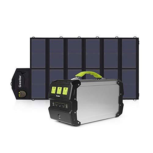 360Wh / 97200Mah Portátil Generador Solar Inversor De Energia Central Eléctrica...