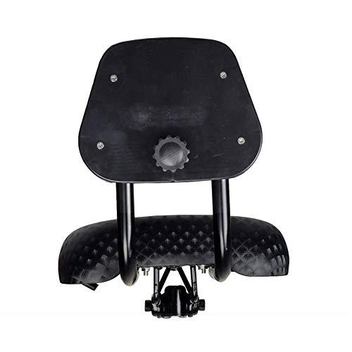 ENticerowts Fahrradsattel mit breitem Komfort aus Kunstleder mit Rückenlehne - 3
