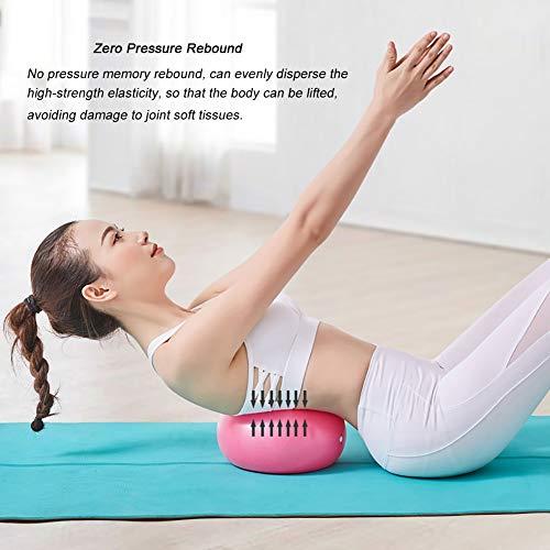 Pelota de gimnasia mini Pilates Small Ball 9,8 pulgadas para Ejército / Espalda gruesa Anti-Burst Small Yoga Ball para el embarazo, Home Office Gym