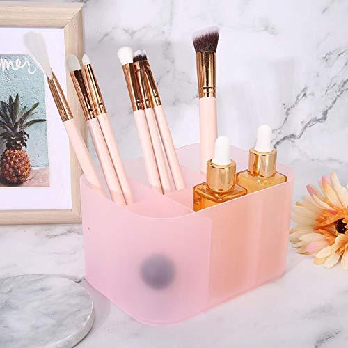 Caja de almacenamiento de arte de uñas Estuche conveniente para contenedores de manicura para uso doméstico para salón(pink)