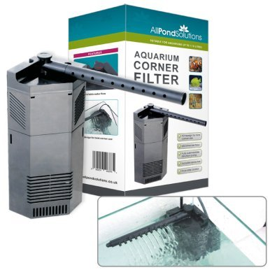 All Pond Solutions CIF Corner Internal Fish Tank Filter and Replacement Foams (650-CIF) from All Pond Solutions