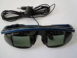 3D Wired LCD Shutter glasses- for 3D Viewing of any system with a stereo glasses jack