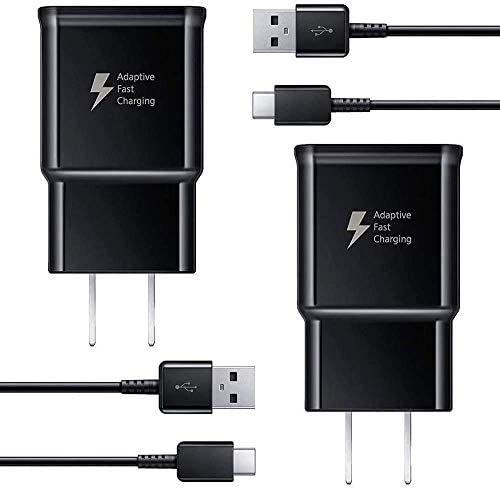 Adaptive Fast Wall Charger Adapter with USB Type C Cable Compatible Samsung Galaxy S21 S21Ultra product image