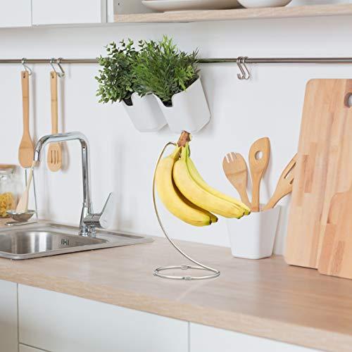 Bananenhalter mit rundem Standfuß