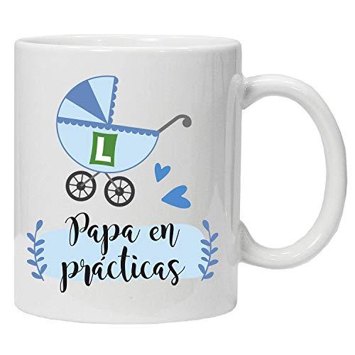 Imprimirlo Taza Regalo para el Día del Padre - Papa en prácticas - PR