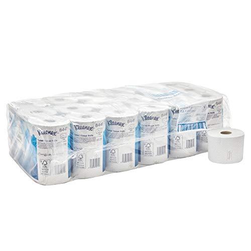 Kleenex Toilettenpapier, Standard Großpackung, 2-lagig, 36 Rollen x 600 Blätter, weiß, 8441