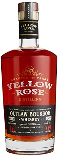 Yellow Rose OUTLAW BOURBON Whisky (1 x 0.7 l)