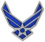 Metal Lapel Pin - US Air Force Pin & Emblem - US Air Force Wings II Logo 3/4