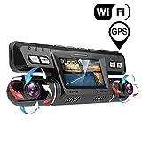 YOUANDMI Dashcam,2160P UHD WiFi GPS Avant et Arriere Double 170 Degré Grand Angle...