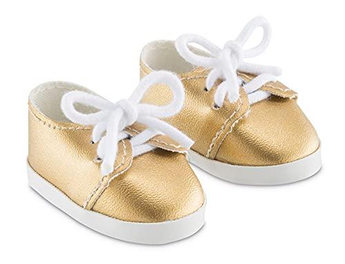 Corolle- Chaussures dorées pour poupée, 9000212010
