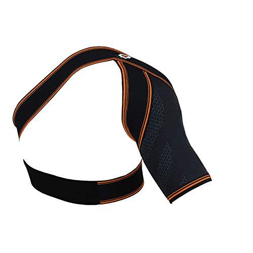 Urbo hombrera de compresión (aprobada por FDA y CE) soporte ergonómico para hombro con tendinitis del manguito de los rotadores, hombro congelado y lesiones por esfuerzo repetitivo (Mediana)
