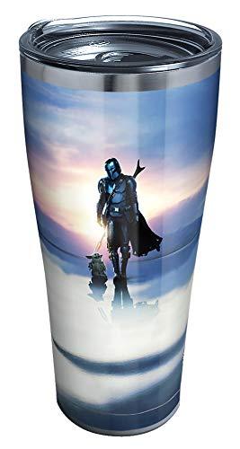 Tervis Star Wars-The Mandalorian This Is The - Vaso con aislamiento, acero inoxidable de 30 onzas