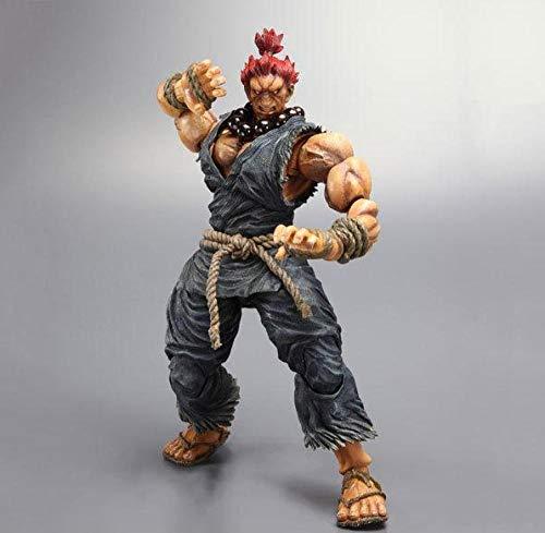 Obrand Anime Street Fighter Game Figuras Super Street Fighter 4 Ghost Modelo Modelo Decoración Figura Regalos