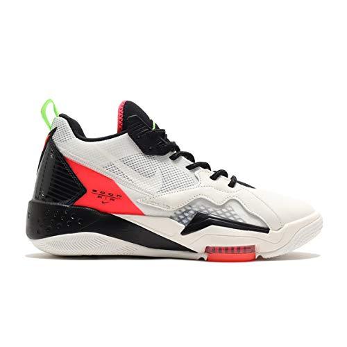 Jordan Scarpe Da Uomo Nike Zoom '92 CK9183-100, (Bianco/Nero/Vela/Nero), 44.5 EU