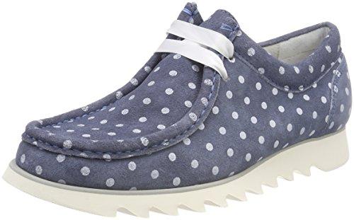 Sioux Damen Grash-d172-28 Sneaker, Blau (Light-Jeans), 38.5 EU (5.5 UK)