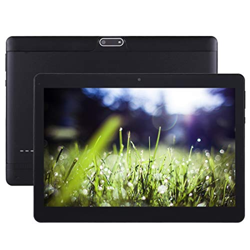 YANTAIAN 3G Call Tablet, 10.1 inch, 1GB+16GB, Android 6.0 MT6580 Quad Core 1.3GHz, Support OTG & GPS & FM & Bluetooth & WiFi & Dual SIM(Black) (Color : Black)