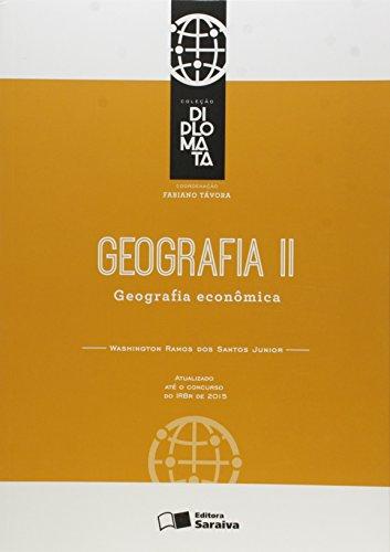 Geografia II: Geografia econômica - 1ª edição de 2015