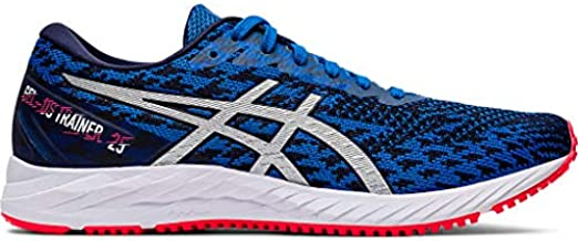 ASICS Women's Gel-DS Trainer 25 Running Shoes, 9, Electric Blue/Pure Silver