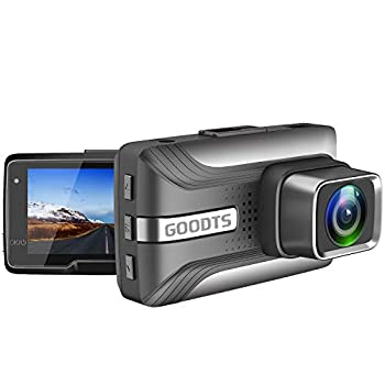 GOODTS Dash Cam 1080P FHD Car Camera 2.45 Inch LCD Screen 170°Wide Angle Dash Camera for Cars with G-Sensor Loop Recording WDR Motion Detection Night Vision.