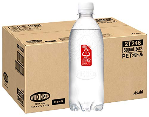 『MS+B ウィルキンソン 炭酸水 ラベルレスボトル 500ml ×24本 [Amazon限定ブランド]』の5枚目の画像