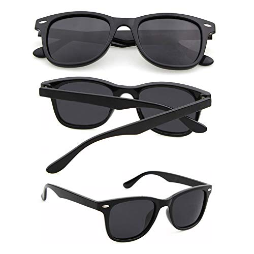 HoitoDeals Gafas de sol de moda retro para hombre y mujer