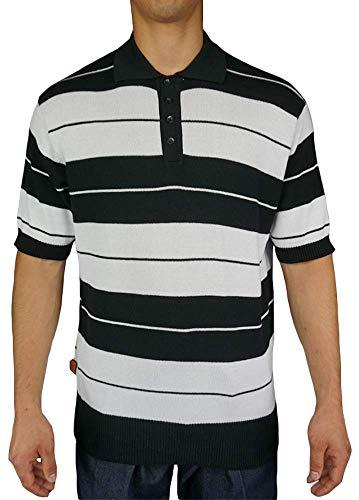FB County Men's Charlie Brown Shirt X-Large Black/White