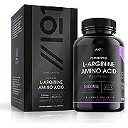 Fermented L-Arginine with BioPerine & Biotin Capsules - 1000mg - Potent Amino Acids - Non-GMO, Gluten Free, 120 Vegan Capsules (1 Pack)
