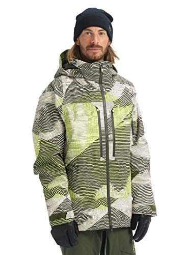 Burton Men's Ak Gore-tex Swash Jacket, Almond Roselli, XX-Large