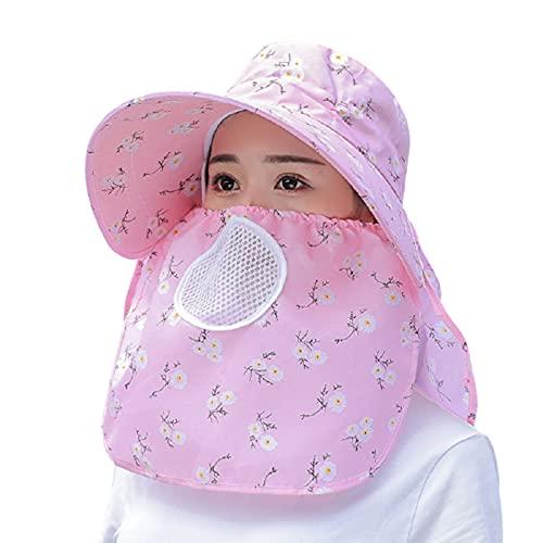 Zuoye Sombrero de mujer de ala grande protección contra el cuello respirable protector solar al aire libre sombrero para verano nuevo