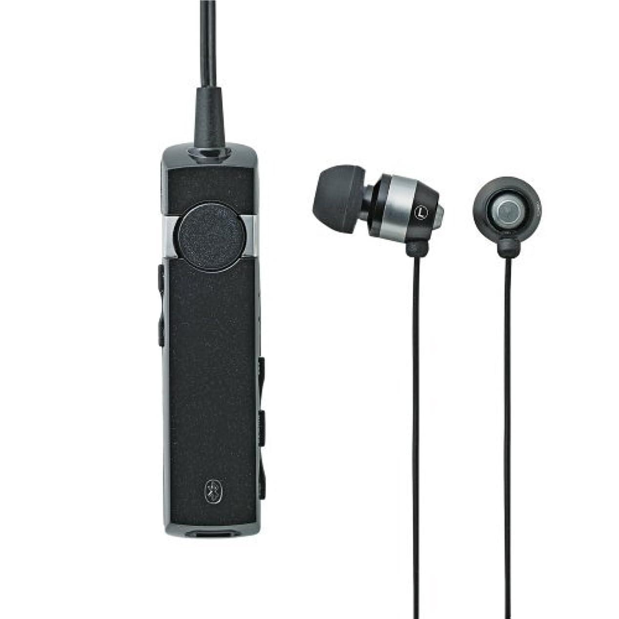 威信火炎金銭的なLogitec iPhone5/4S/4/3GS/3G スマートフォン対応 Bluetooth+EDR対応 ワイヤレスイヤホン HP300シリーズ ブラック LBT-AVHP300BK
