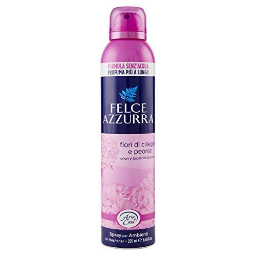 Fougère Bleue Déodorant Environnement Spray Talc & Fleur de Cerisier – Lot de 1 x 250 ML – Totale : 250 ML