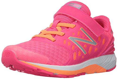 New Balance Girls' Urge V2 Hook and Loop, Pink, 2.5 Extra Wide US Little Kid