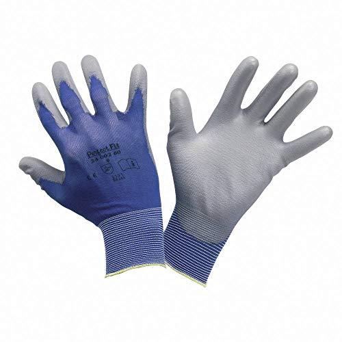 Honeywell 2400260–10Perfekte Poly Haut Handschuh–Blau (10)