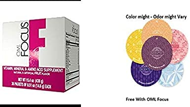 Omnilife OML Focus With Free scentsy Odor circle (may vary)