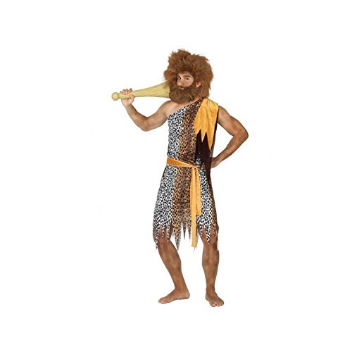 Atosa- Disfraz Hombre cavernícola de Pieles, XL (17362)