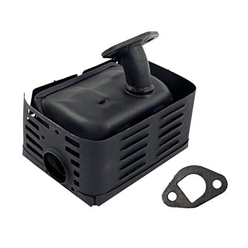 POWER PRODUCTS Exhaust Engine Muffler w/Heat Shield for Honda GX160 GX200 5.5 HP 6.5 HP Engine