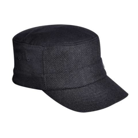 Kangol Textured Wool Army Cap Casquette de Baseball, Noir, Small (Taille Fabricant:Small/Medium) Mixte