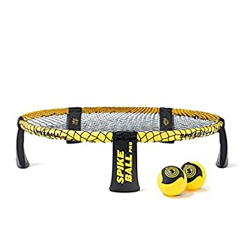 Spikeball Pro Kit  Tournament Edition  - Includes Upgraded Stronger Playing Net New Balls Designed to Add Spin Portable Ball Pump Gauge Backpack - As Seen on Shark Tank TV