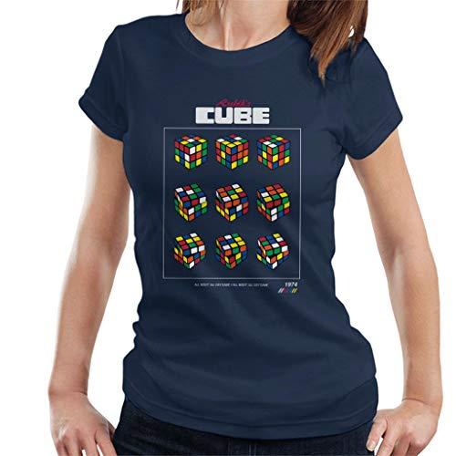 Rubik's Retro Cube Moves Women's T-Shirt