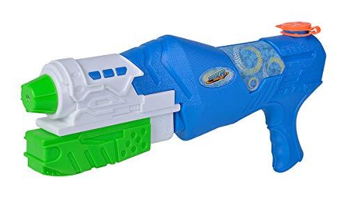 Simba- Waterzone Strike Blaster/Wasserpistole/Pumpmechanismus/Tankvolumen: 900ml / Reichweite: 8m Pistola de Agua (Mecanismo de Bombeo, 900 ml, Alcance: 8 m), Color 1. (107276060)
