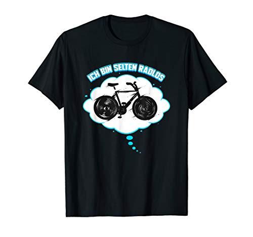 Radfahrer Geschenk für Fahrrad Tour Radsport I Selten Radlos T-Shirt
