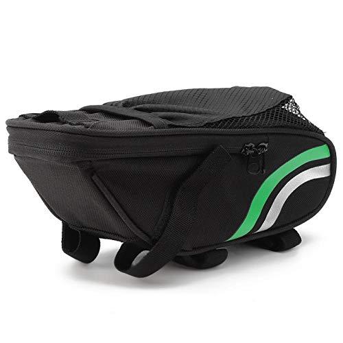 Emoshayoga Mountainbike Wasserflaschentasche Fahrrad-Rückentasche für einfach zu bedienende und zu entfernende Mountain Folding Bicycle(Bicycle Tail Bag)