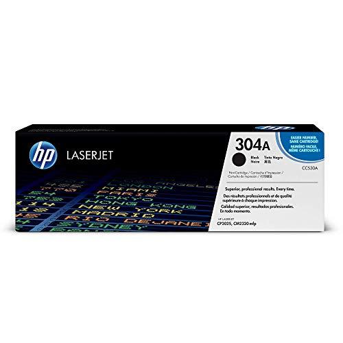HP 304A CC530A Schwarz Original Toner fur HP Color LaserJet CP2025 CM2320