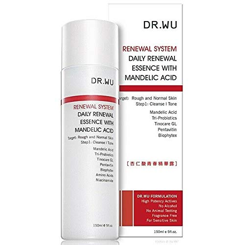 Dr.Wu 150ml Intensive Renewal Toner with Mandelic Acid from Taiwan