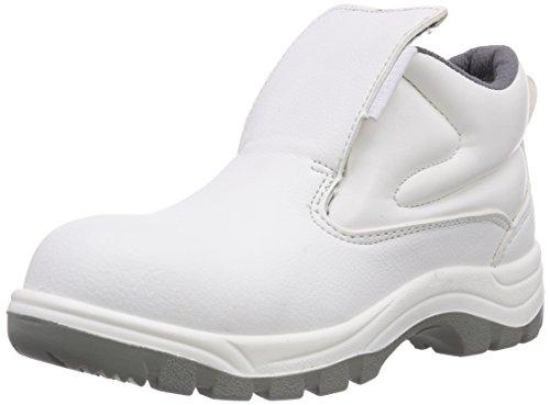 Maxguard - W420, Scarpe antinfortunistiche, unisex, bianco (weiß), 45