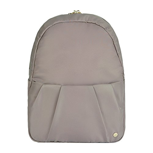 "PacSafe Women's Citysafe CX Anti Theft Convertible Backpack-Fits 10"" Tablet, Blush Tan, 8 Liter"