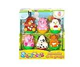VTech Zoomizooz Set de 6 animales Granja, color (3480-438922) , color/modelo surtido